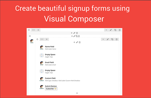 Complemento Visual Composer Mailchimp - 4